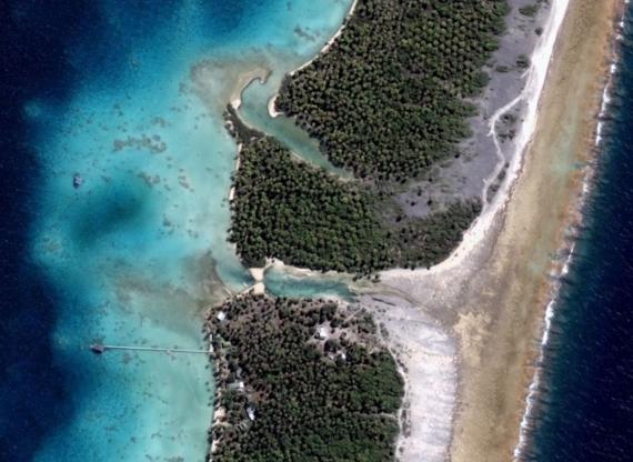 Ferme perlicole sur l'atoll de Ahé